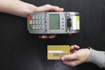 Accidental contactless with your smartphone and bank card, photo