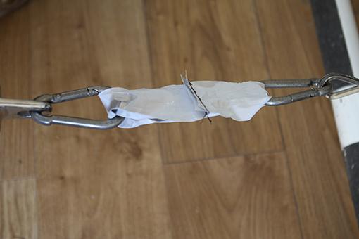 RFID cloaking film stitched