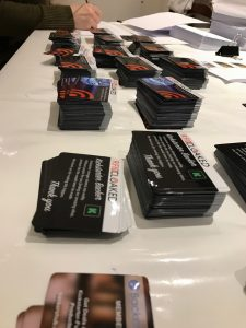 RFIDsecur contactless cards piled high