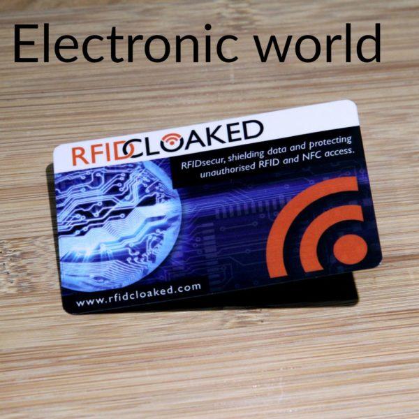 RFID Blocking Card Pack, RFIDsecur™ Blocking Card Electronic world