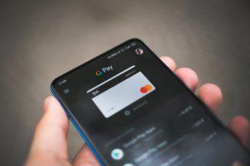 Google wallet debit card, photo