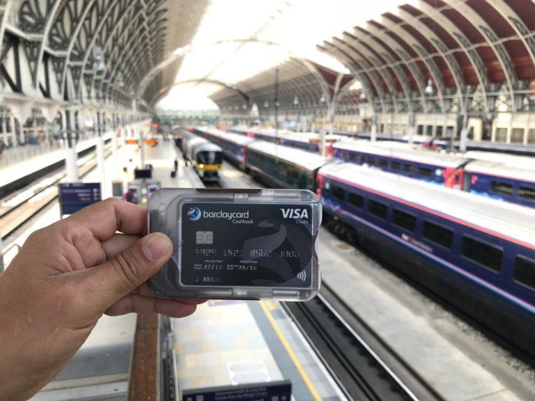 London Underground station commuters shielded commuter wallet