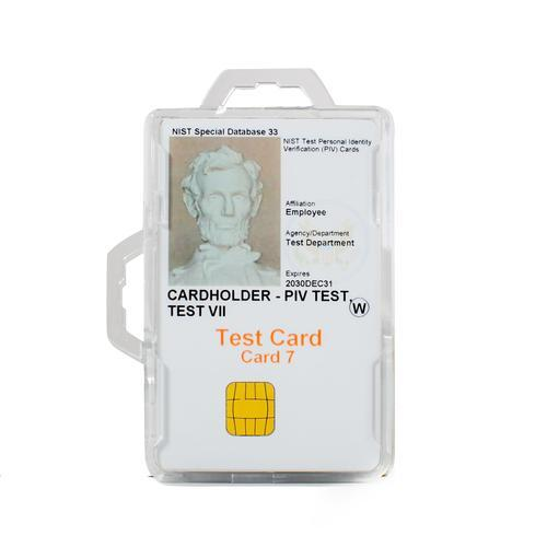 RFID Secure Badge Holder, Two Cards, DuoLite clear ID Stronghold RFID Cloaked, photo
