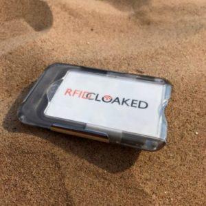 need RFID blocking - RFID Wallet - RFID Cloaked, photo